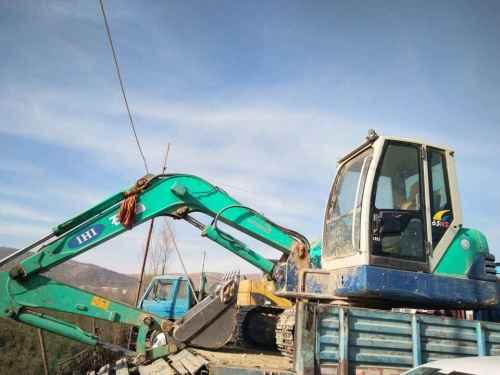 甘肃出售转让二手5000小时2013年石川岛65NS挖掘机