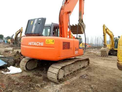浙江出售转让二手9000小时2003年日立ZX120挖掘机