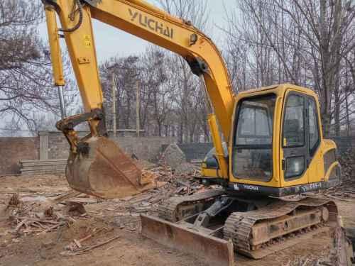 河北出售转让二手4000小时2013年玉柴YC85挖掘机