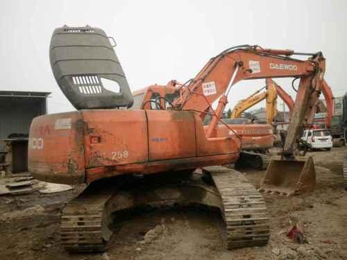 山西出售转让二手20000小时2004年大宇DH220LC挖掘机