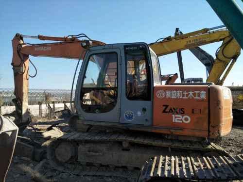 天津出售转让二手5516小时2007年日立ZX120挖掘机