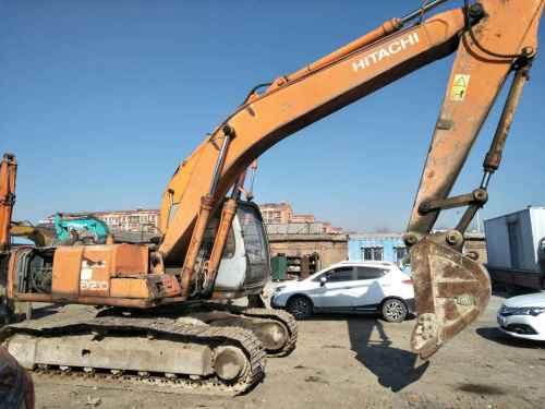 天津出售转让二手23522小时2003年日立ZX200挖掘机
