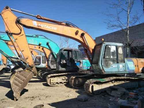 天津出售转让二手20000小时2003年日立EX200挖掘机