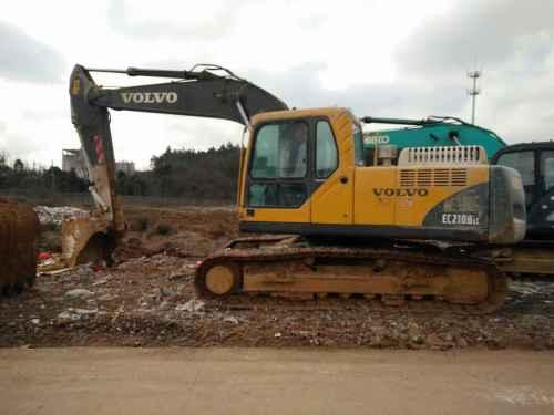 江苏出售转让二手12806小时2008年沃尔沃EC210BLC挖掘机