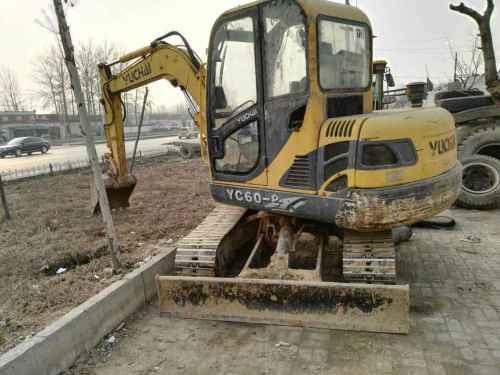 河北出售转让二手8000小时2013年玉柴YC60挖掘机