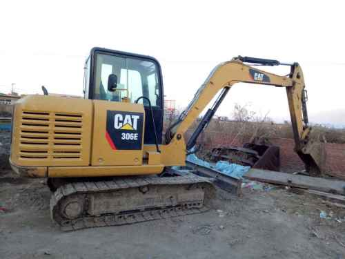 辽宁出售转让二手4485小时2013年卡特彼勒306E挖掘机