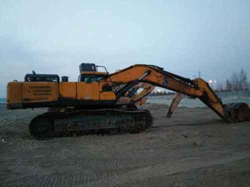 内蒙古出售转让二手13500小时2010年三一重工SY465C挖掘机