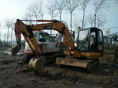 山东出售转让二手4000小时2012年福田雷沃FR60挖掘机
