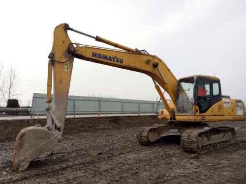 浙江出售转让二手15000小时2006年小松PC200挖掘机