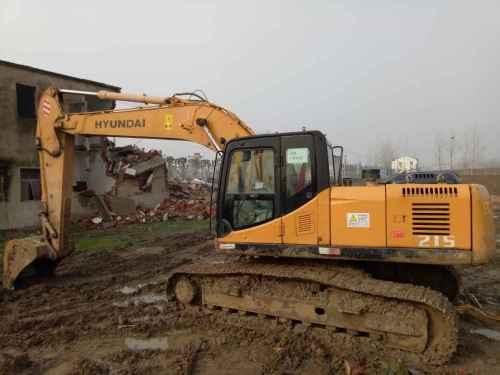 安徽出售转让二手8600小时2010年江麓CN225LC挖掘机