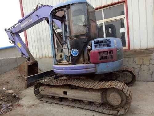 辽宁出售转让二手12386小时2005年小松PC78US挖掘机