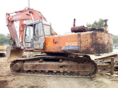 广东出售转让二手19870小时2003年日立EX300挖掘机