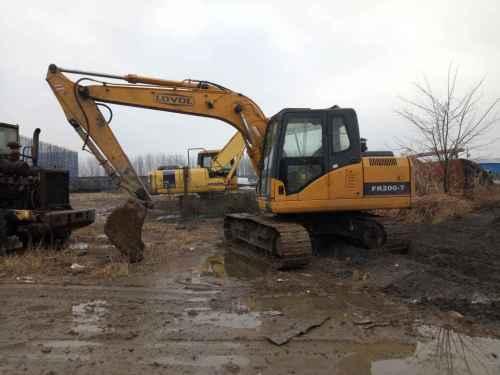 山东出售转让二手6000小时2011年福田雷沃FR150挖掘机