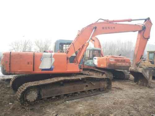河北出售转让二手11689小时2003年日立ZX200LC挖掘机