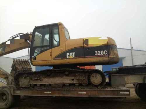 山东出售转让二手15000小时2003年卡特彼勒320C挖掘机