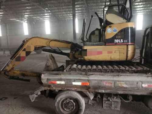 山东出售转让二手3600小时2009年卡特彼勒301挖掘机