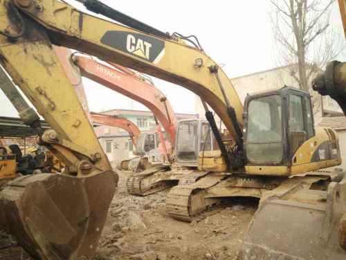 河北出售转让二手8236小时2010年卡特彼勒320D挖掘机