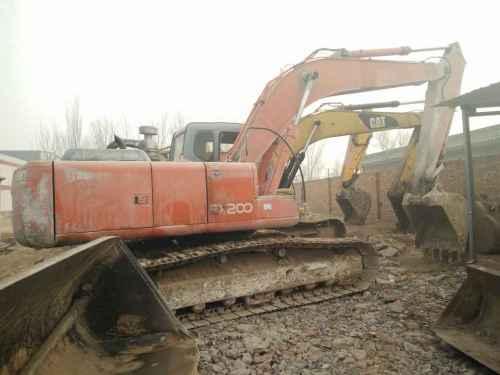 河北出售转让二手8309小时2003年日立EX200挖掘机