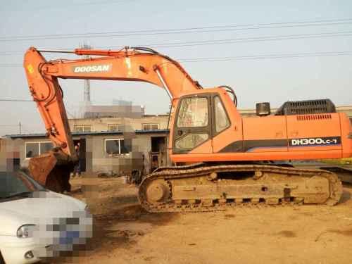 河北出售转让二手10000小时2010年斗山DH300LC挖掘机