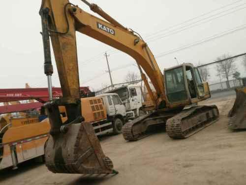 陕西出售转让二手5500小时2009年加藤HD1023挖掘机