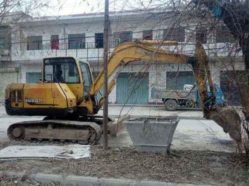 山西出售转让二手4000小时2012年愚公机械WY75挖掘机