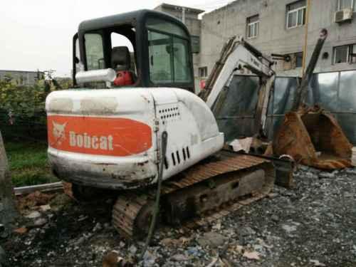 陕西出售转让二手10000小时2006年山猫MX337挖掘机