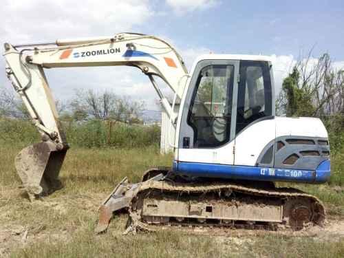 云南出售转让二手2163小时2010年中联重科ZE80E挖掘机