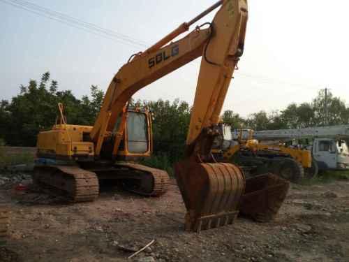 陕西出售转让二手1500小时2014年临工LG6210挖掘机