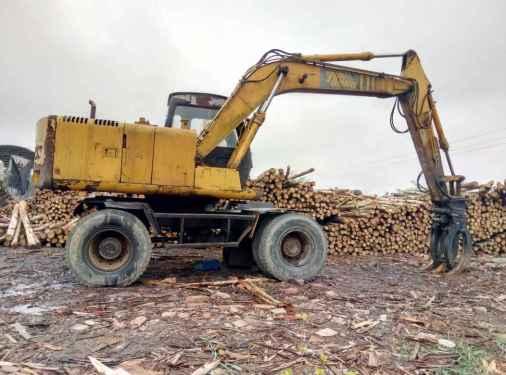 广西出售转让二手5000小时2009年福临机械WY125D挖掘机