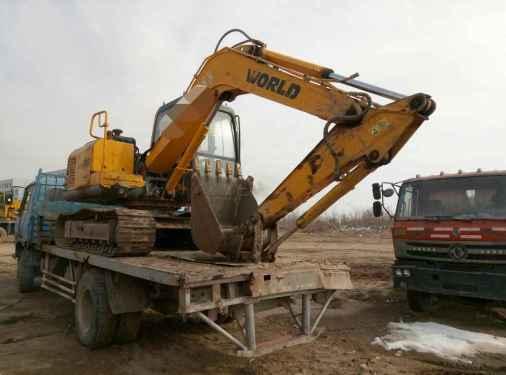 宁夏出售转让二手6000小时2011年沃得重工W285挖掘机