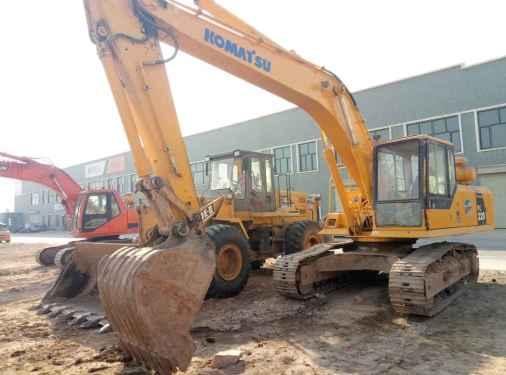 宁夏出售转让二手12000小时2009年小松PC200挖掘机