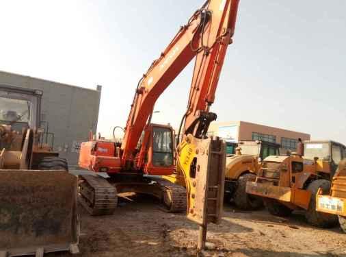 宁夏出售转让二手10000小时2008年斗山DH220挖掘机