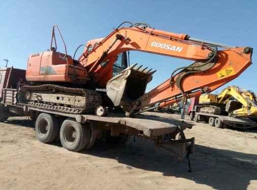 宁夏出售转让二手8000小时2009年斗山DH150LC挖掘机