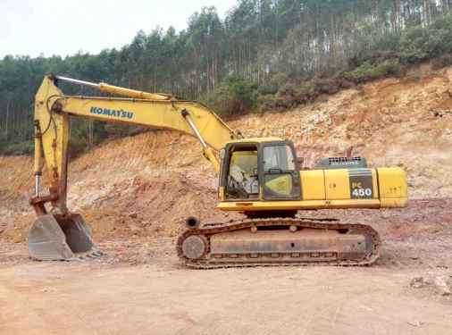 广西出售转让二手13000小时2009年小松PC450挖掘机