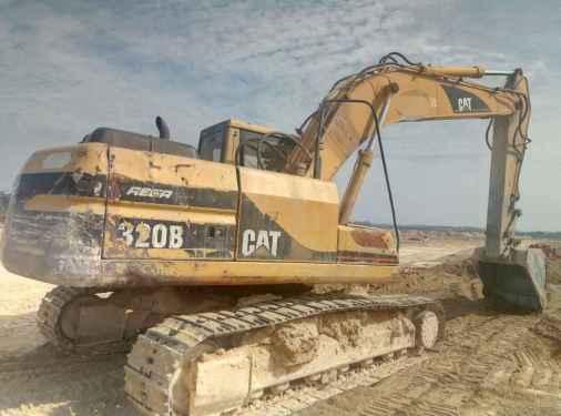 广西出售转让二手18000小时2003年卡特彼勒320B挖掘机