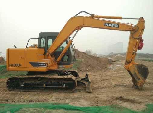 陕西出售转让二手250小时2016年加藤HD308R挖掘机