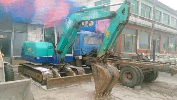 辽宁出售转让二手9000小时2010年石川岛65NS挖掘机