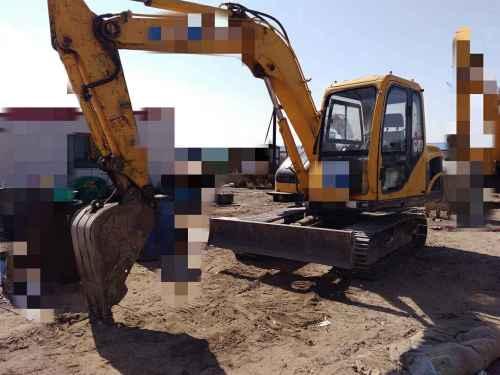内蒙古出售转让二手10000小时2011年玉柴YC85挖掘机