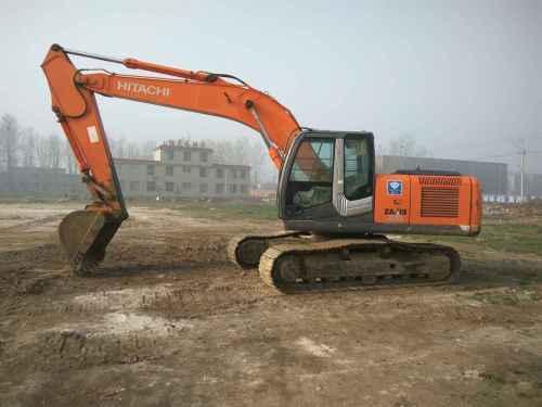 山东出售转让二手9000小时2010年日立ZX200挖掘机