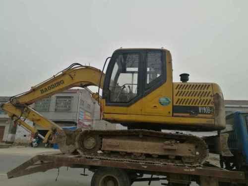 安徽出售转让二手6000小时2012年宝鼎WY90B挖掘机