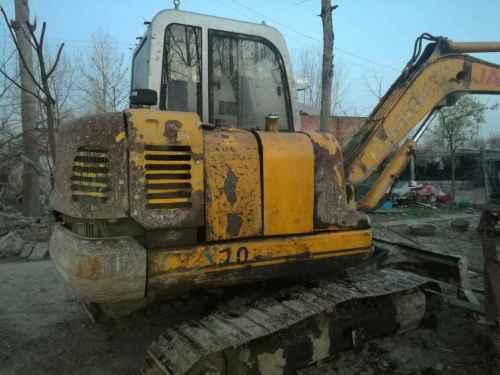 安徽出售转让二手8000小时2009年江淮银联CVX60挖掘机