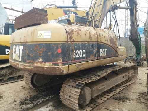 江苏出售转让二手7281小时2004年卡特彼勒320C挖掘机
