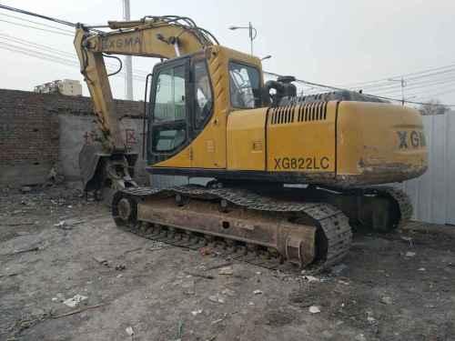 甘肃出售转让二手7600小时2009年厦工XG822LC挖掘机
