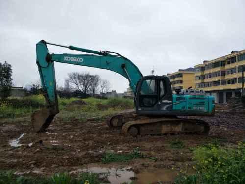 江西出售转让二手5500小时2012年神钢SK260LC挖掘机