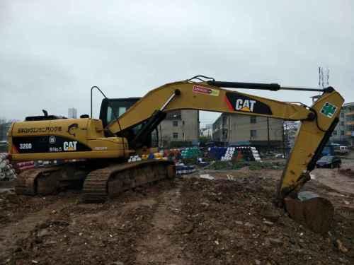 江西出售转让二手6000小时2011年卡特彼勒320D挖掘机