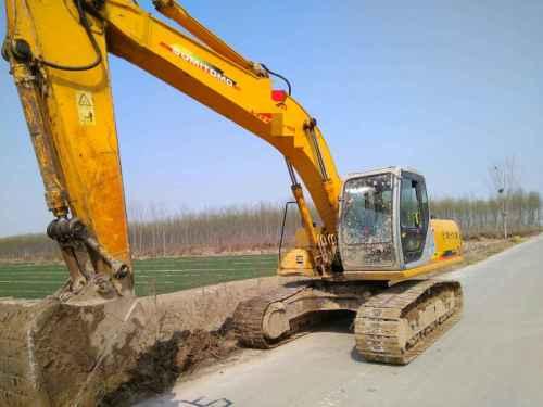 山东出售转让二手15000小时2003年住友SH200A3挖掘机