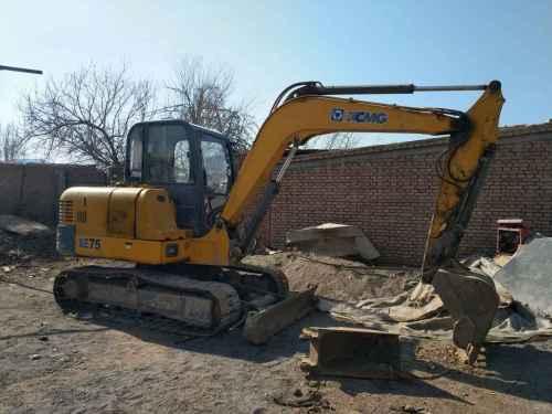甘肃出售转让二手6900小时2011年徐工XE60挖掘机