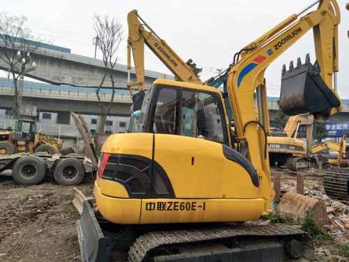 四川出售转让二手10小时2016年中联重科ZE60E挖掘机