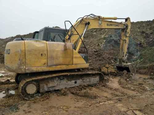 四川出售转让二手3473小时2012年住友SH130挖掘机