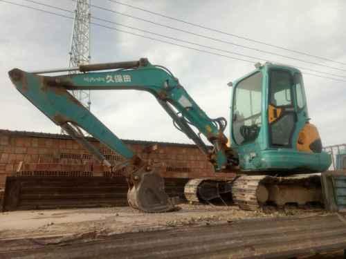 甘肃出售转让二手7800小时2011年久保田KX161挖掘机